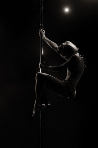 Pole fitness, dance, exercise, photography, lighting