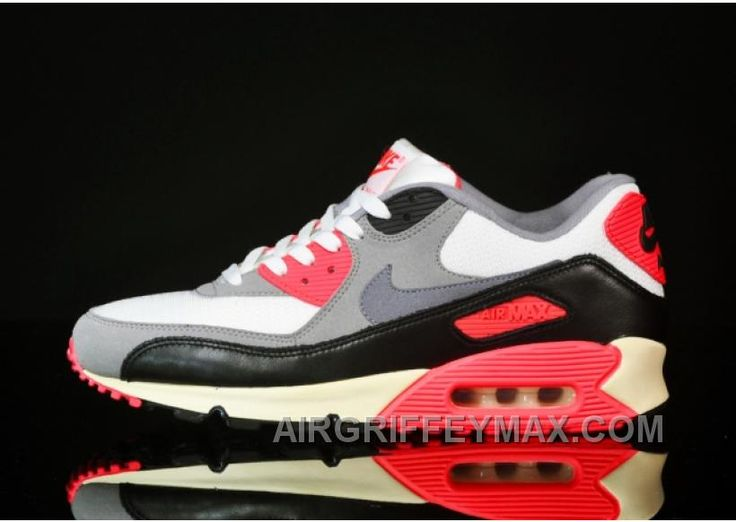 http://www.airgriffeymax.com/hot-soldes-courses-nike-air-max-90-og-vintage-femme-homme-sail-cool-griseinfrared-magasin.html HOT SOLDES COURSES NIKE AIR MAX 90 OG VINTAGE FEMME/HOMME SAIL/COOL GRISE-INFRARED MAGASIN Only $76.00 , Free Shipping!