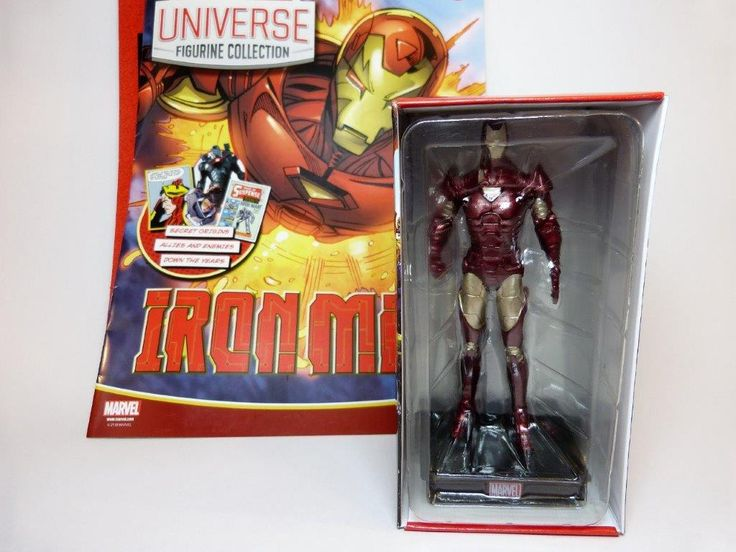 Marvel Universe Figurine Collection #2 Iron Man Review