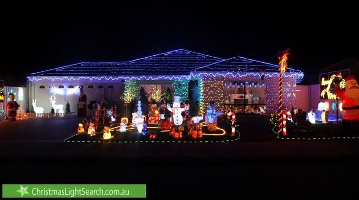 Christmas Lights in Gosnells, WA. http://xmaslights.co/gosnells