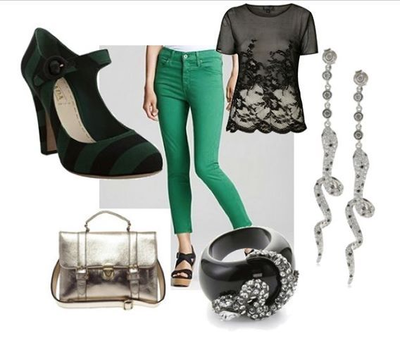Slytherin Outfit - I want all of this!!!
