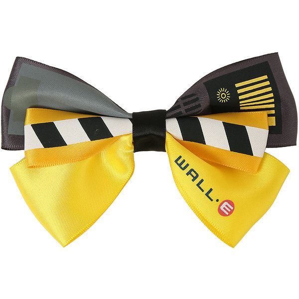 Disney WALL-E Cosplay Hair Bow Hot Topic ($6.80) ❤ liked on Polyvore featuring accessories, hair accessories, disney, disney hair accessories, hair bow accessories and disney hair bows