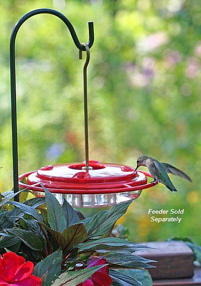 Erva Best Container Garden Hummingbird Pole Set, Quality Handcrafted Flower Pot Pole Sets at Songbird Garden