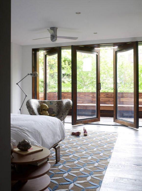 bedroom: The Doors, Houses, Idea, Wood Interiors, Window, Fashion Design, Interiors Design, Master Bedrooms, Chelsea Townhouse