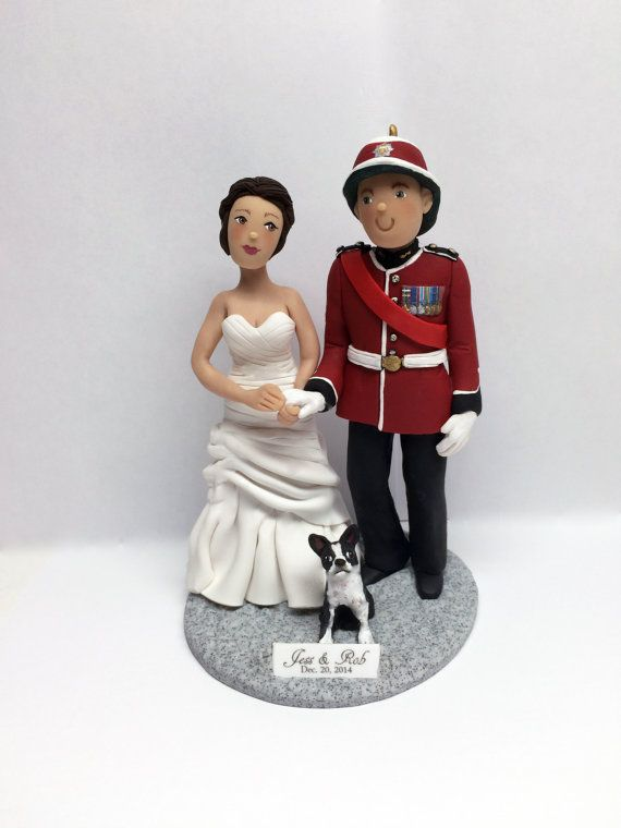custom wedding cake topper deposit required by barbarasclaymagic