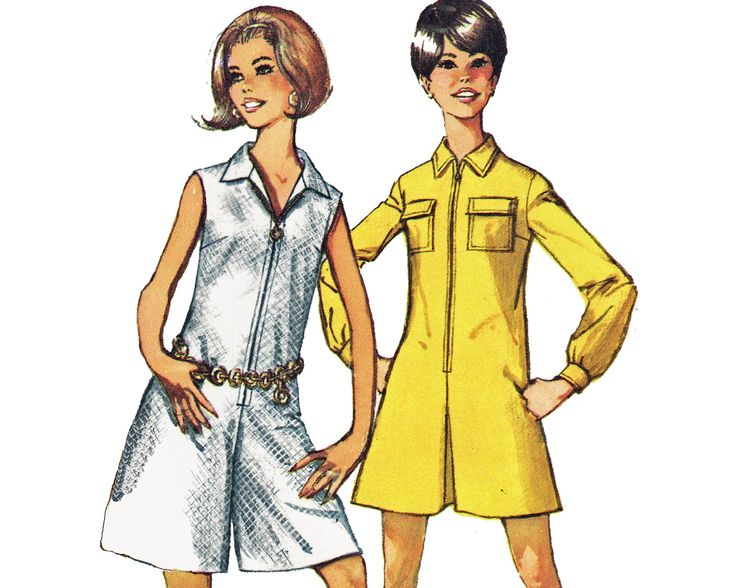 Sewing Pattern For 60s Romper Amp Wrap Skirt For Women