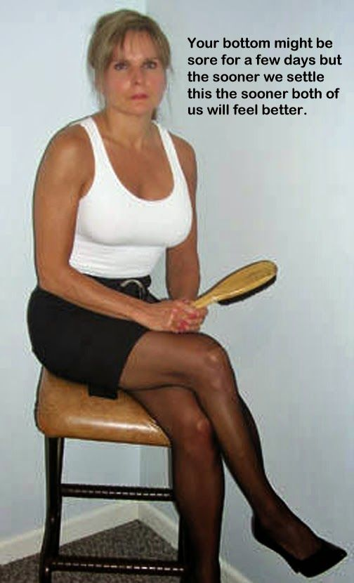 Mature women spanking men