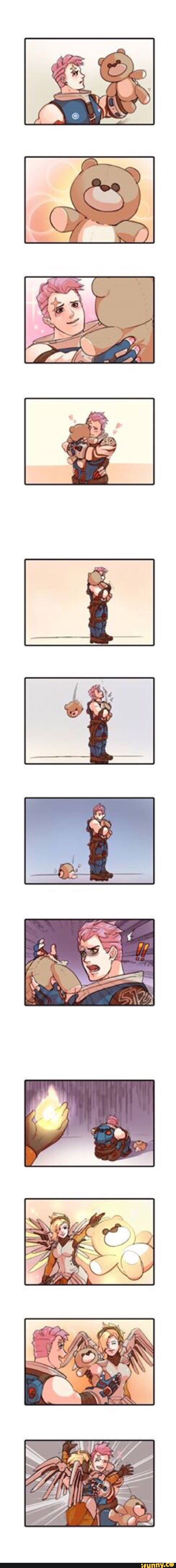 Hahah :) << RIP Mercy