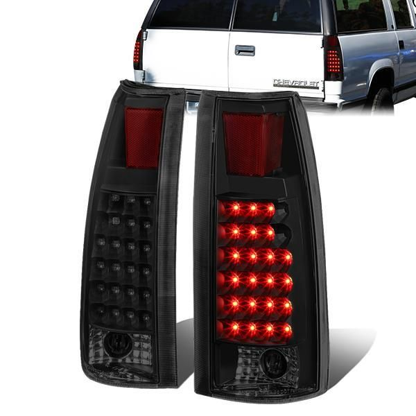 2007 2014 Chevy Suburban Tahoe Gmc Yukon Xl Red Led Brake Tail Lights Lamps Set Gmc Yukon Chevy Suburban 2014 Chevy
