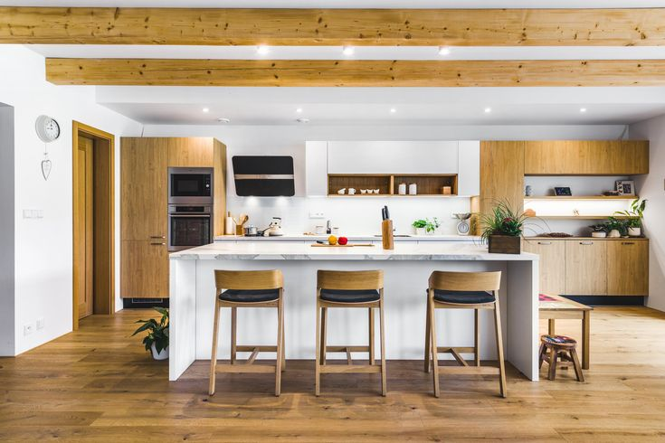 #kitchen #kuchyně / SLIM WHITE / DUB KAMENNÝ / SRDCE DOMU. CENTRUM RODINY.