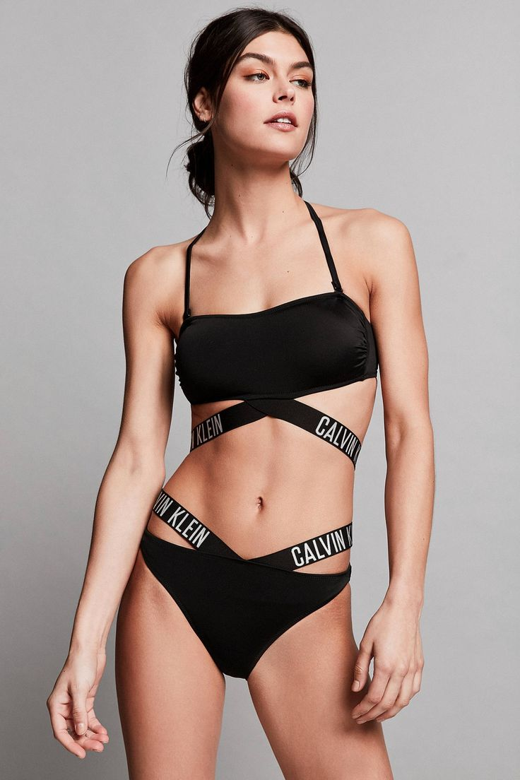 Calvin Klein Intense Power Cross Bikini Bottoms | Urban Outfitters | Women's | Lingerie | Swimwear | Bikini Bottoms #UOonYou #UrbanOutfitters #UOEurope http://bellanblue.com