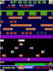 Atari Frogger! How could i forget? My cousin had this arcade game in her living room!