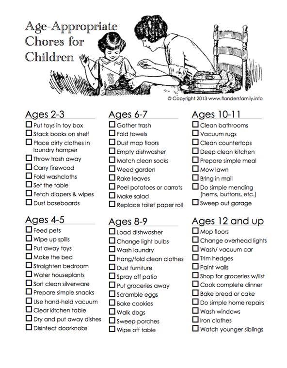 Les (Z)imparfaites: Vos enfants ont-ils assez de tâches?