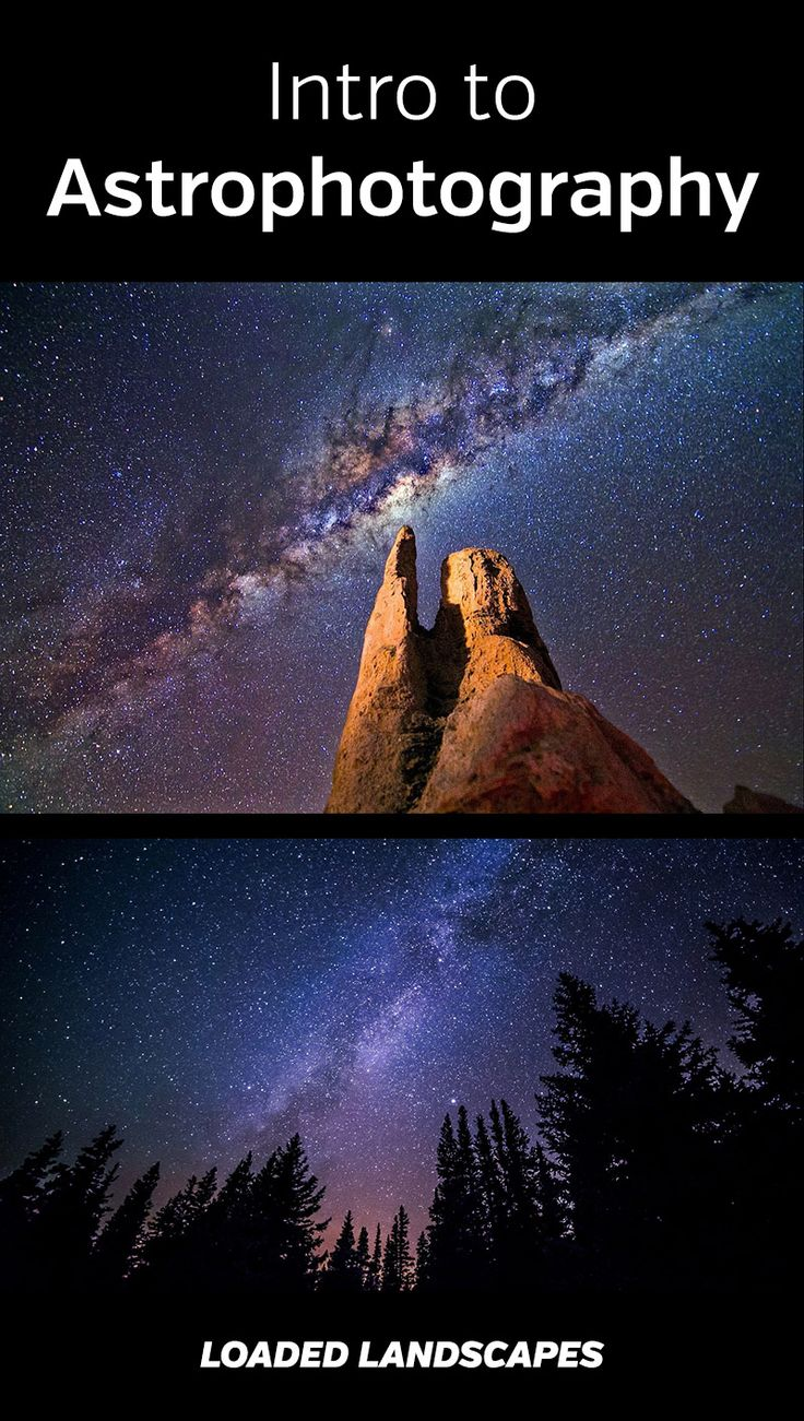Intro to Astrophotography. How to get amazing photos of the night sky, stars, and Milky Way. Tips, recommended gear, camera settings, and more. Landscape photography, nature photography, DSLR, tripod, #photography #astrophotography #photographytips