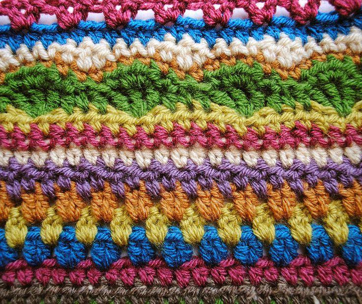 Mejores 2062 imágenes de STRIPED en Pinterest | Afganos crochetados ...