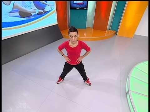 Medyada Sağlık Dilşad Yapıcı Haydi Spora Aerobik Bacak Egzersizleri - YouTube