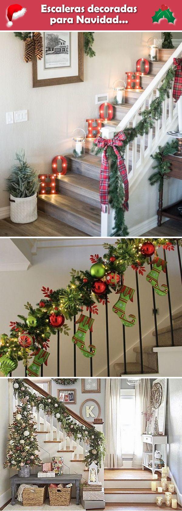 M s de 25 ideas incre bles sobre decoraciones para rboles for Como decorar gradas