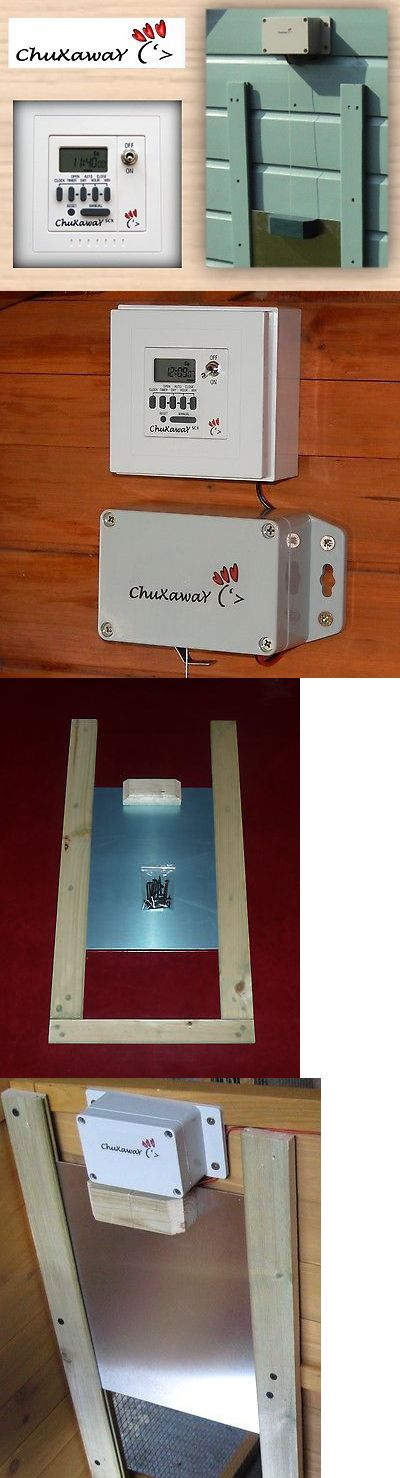 Backyard Poultry Supplies 177801: Chuxaway Scx Automatic Chicken Coop Pop Hole Opener With Timer And Aluminium Door -> BUY IT NOW ONLY: $91.95 on eBay!