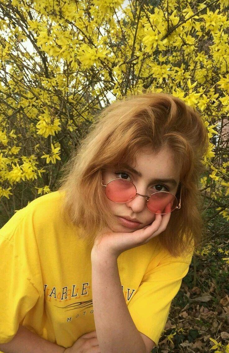 pin ughmaxine beauty pinterest yellow aesthetic girl