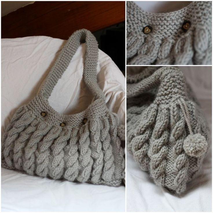 Je me tricote un sac à main Ce qu'il vous faut pour tricoter ce sac à