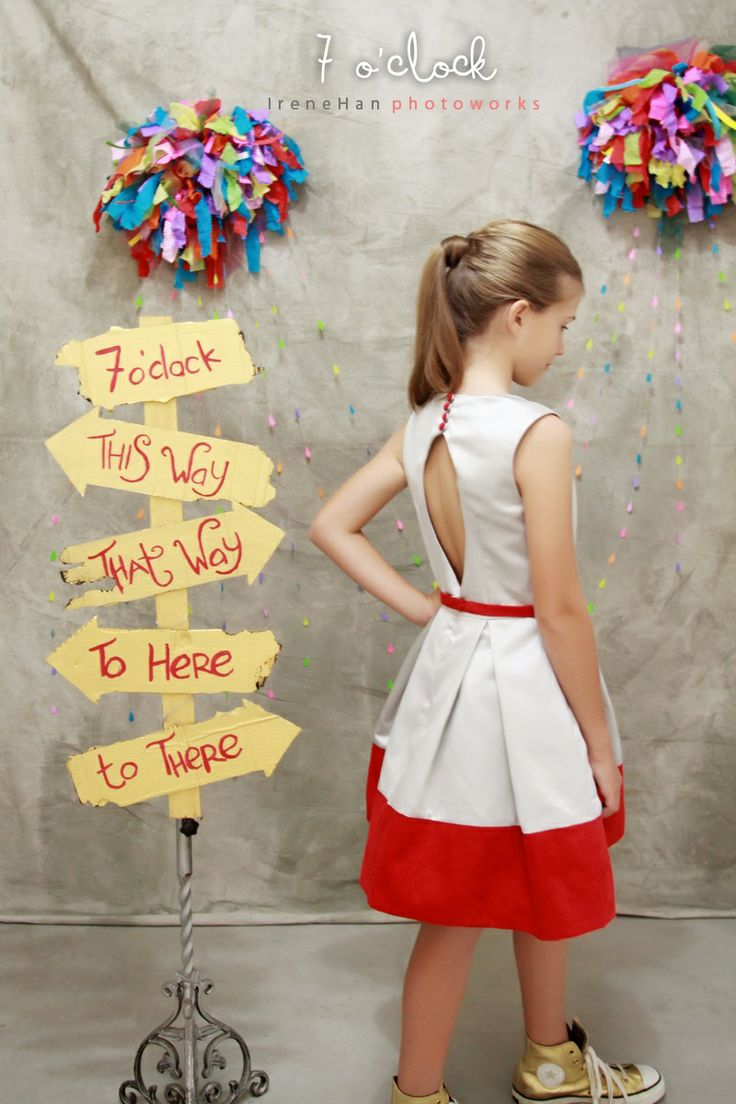 Sadie Dress | 7 o'clock couture by Agit for teens