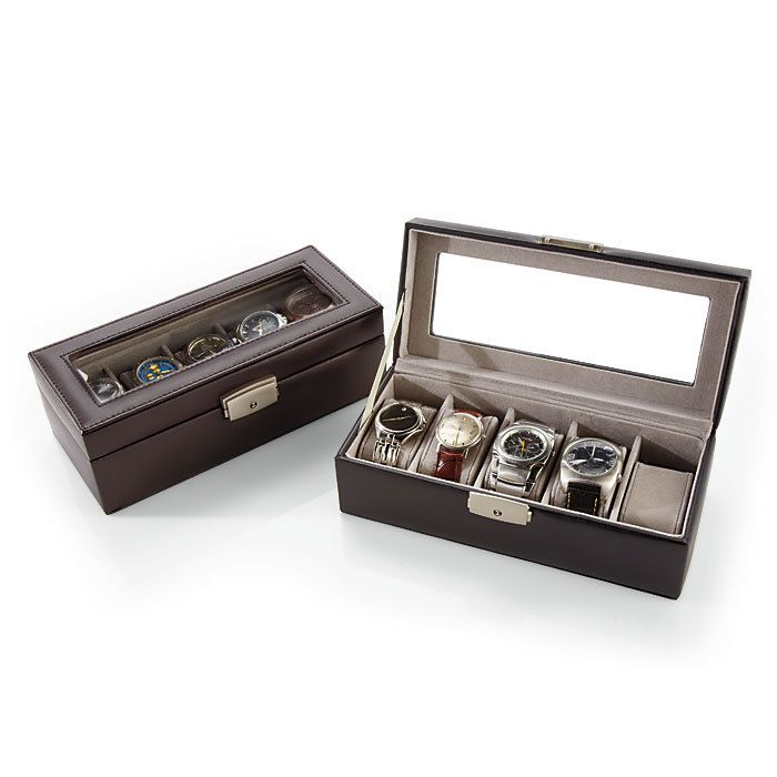 personalized leather watch boxes offer an elegant way to display any watch collection..... One day you will be mine!