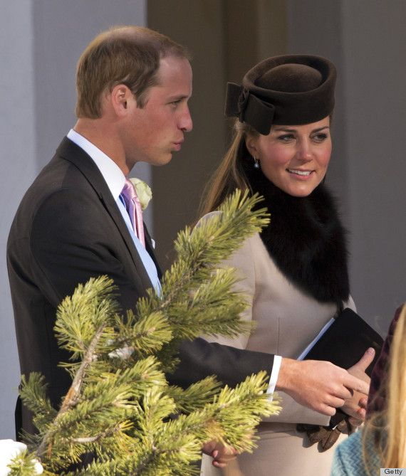 Photos Kate Middleton Attends Swiss Wedding While Pregnant