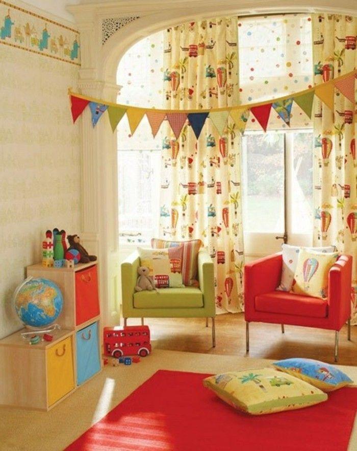 Les 25 meilleures id es de la cat gorie chambre d 39 enfants - Voilage chambre fille ...