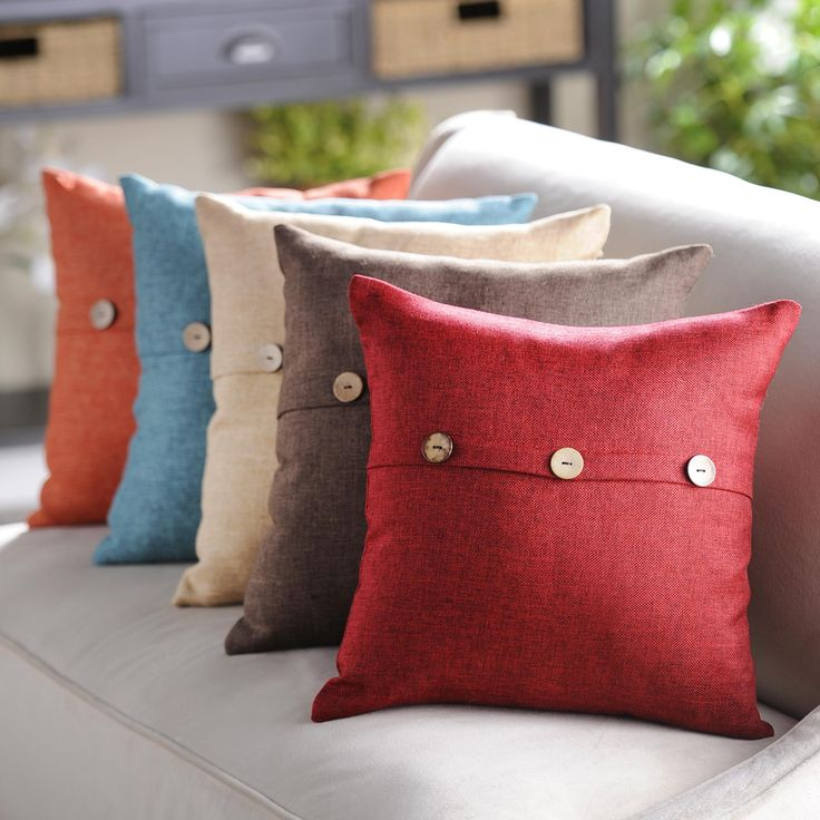 Our Linen Buttoned Pillows are now on sale! Available in a variety of colors, all are only $11.98 each through 6/28.