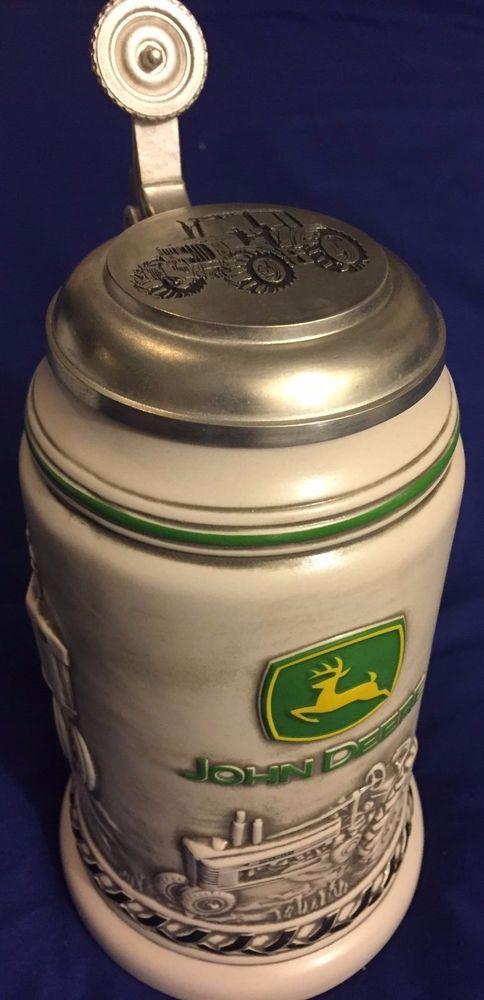 John Deere Crock : John deere collectible handcrafted beer stein by avon