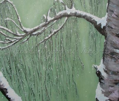 'Winter Weeping Birch' by Natasha Lowenthal, winter scene, snow, nature