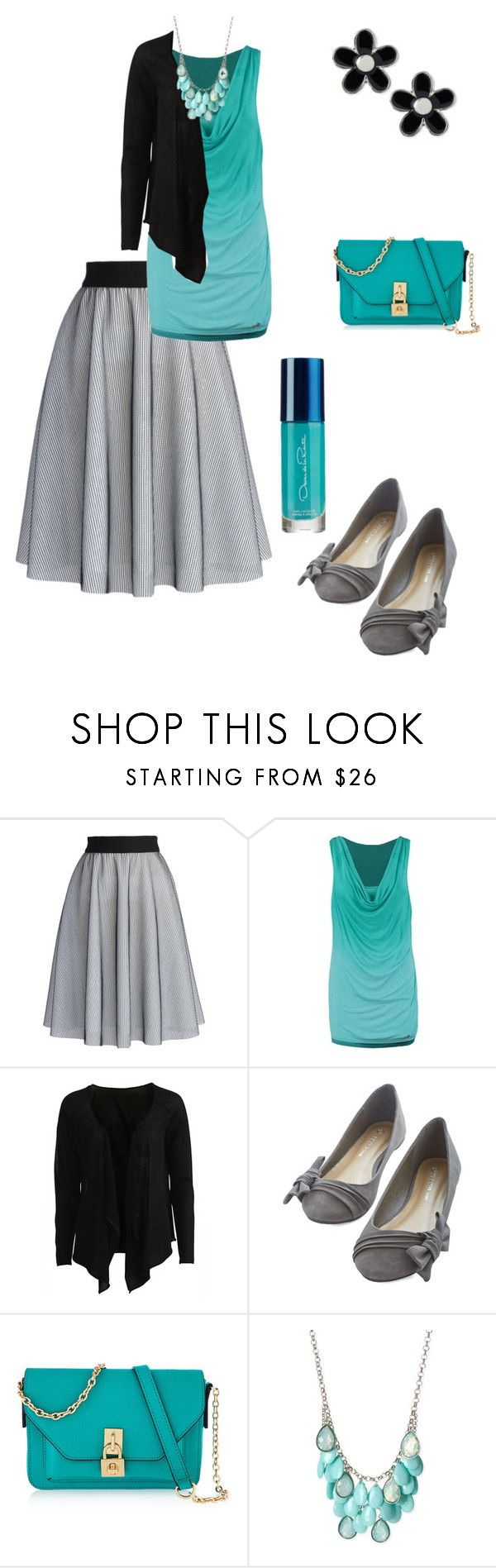 """""""Sunday church outfit"""" by chellebelle28 ❤ liked on Polyvore featuring Chicwish, Khujo, Object Collectors Item, Henri Bendel and Marc by Marc Jacobs"""