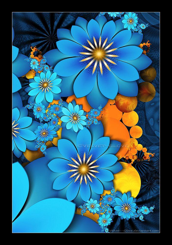 Speckled Blue by Velvet--Glove on DeviantArt