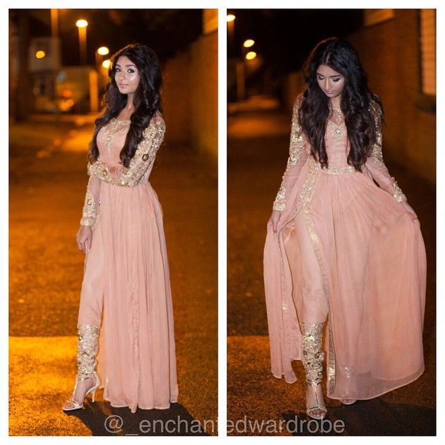 Pakistani Fashion. Enchantedwardrobe's photo on Instagram.