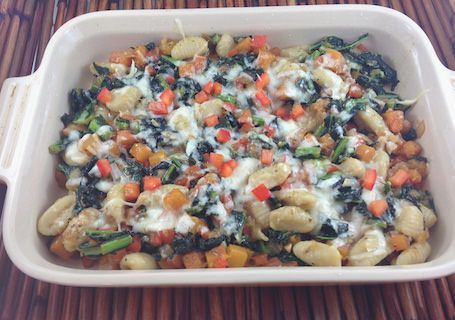 Rose Reisman shares her gnocchi recipe with butternut squash, kale and parmesan cheese.