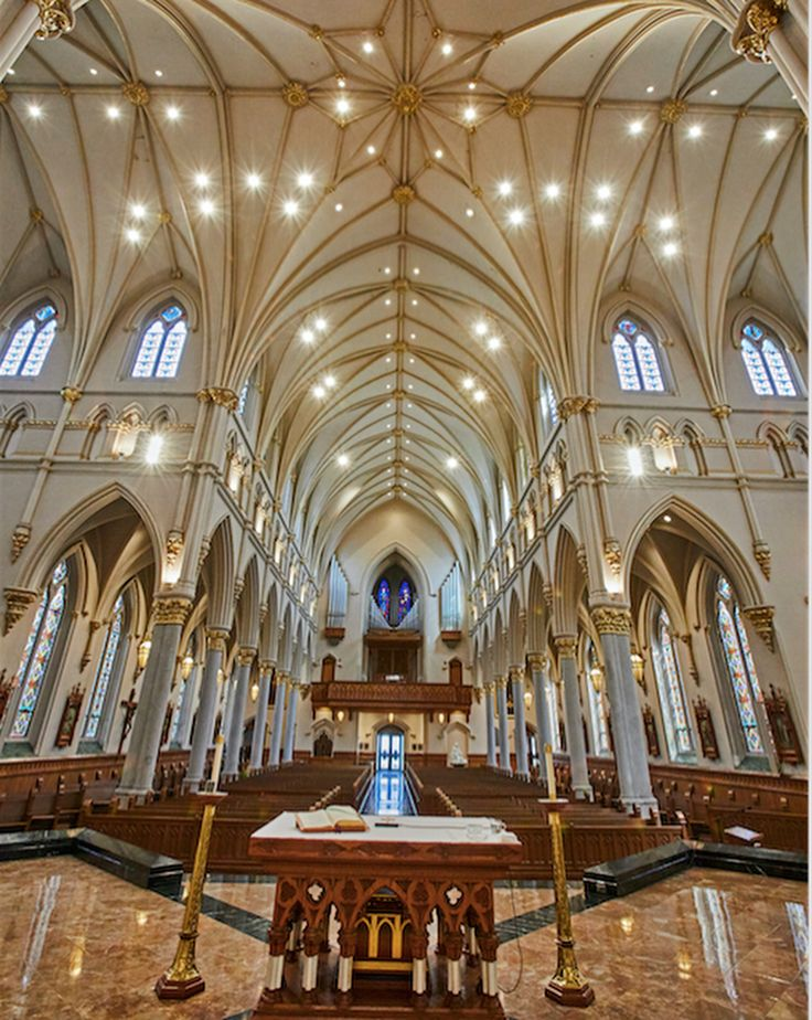 St. Peter Cathedral, Erie, PA. Complete Liturgical Renovation By Rohn U0026  Associates