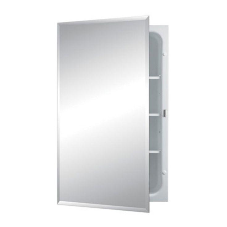 Jensen Medicine Cabinet Horizon 16W x 26H in. Medicine Cabinet with Modular Shelves 1459MOD - 1459MOD