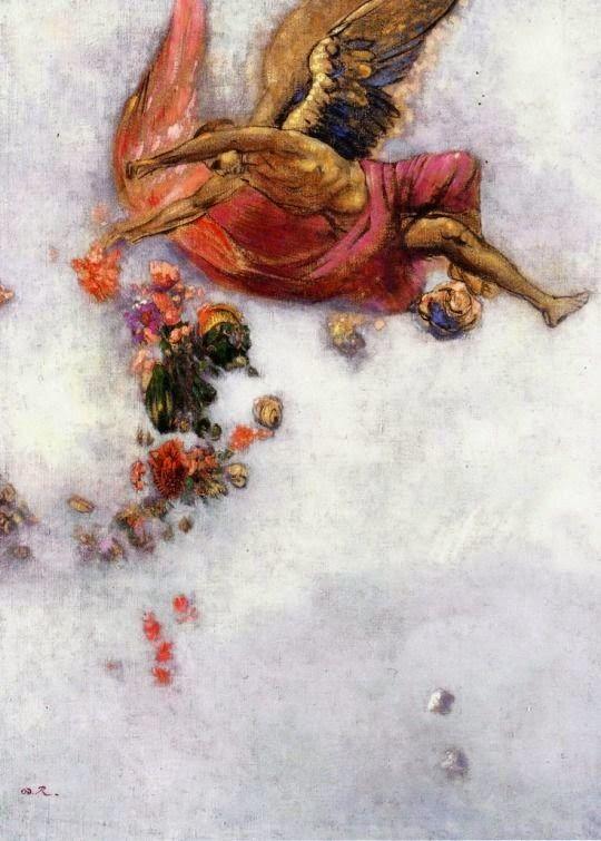 Le Prince Lointain: Odilon Redon (1840-1916), La Chute d'Icare
