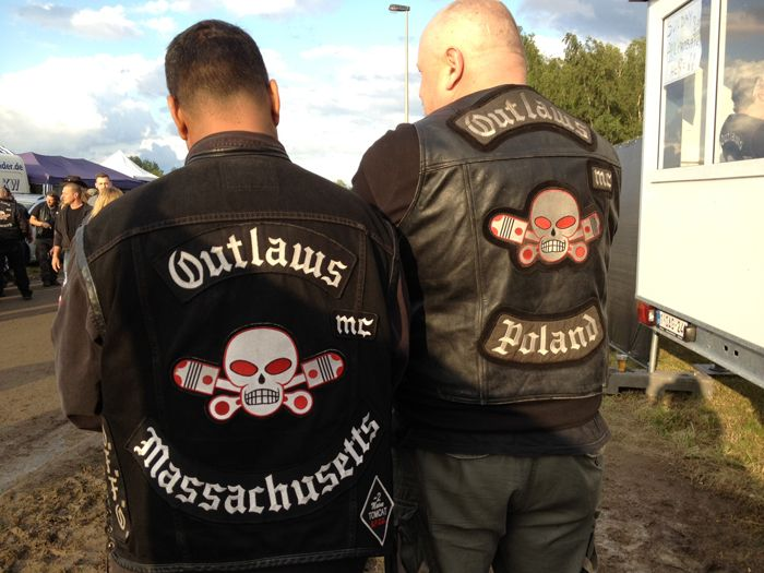 Outlaws MC Connecticut | Black and White | Outlaws motorcycle club