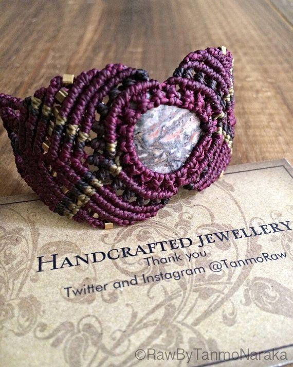 Macrame Bracelet macrame, micromacrame, bohemian jewelry, gifts for her ,personalized jewelry,  boho bracelet, elven,gypsy jewelry ,tribal
