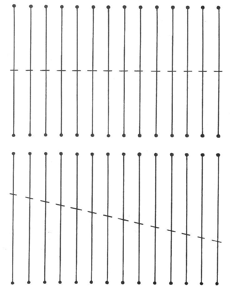 Na minha primeira aula de corte e costura, a instrutora nos ensinou uma forma muito interessante para treinar a coordenação motora na utiliz...