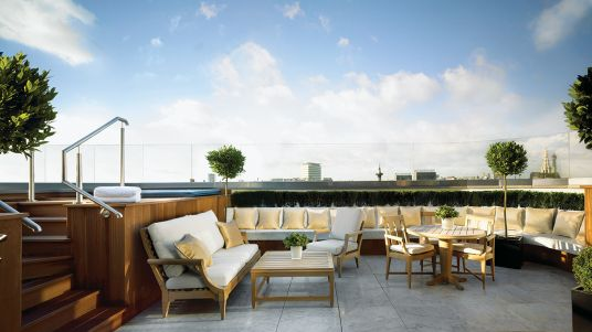 Penthouse at One Zero Ocean in Santa Monica Exterior