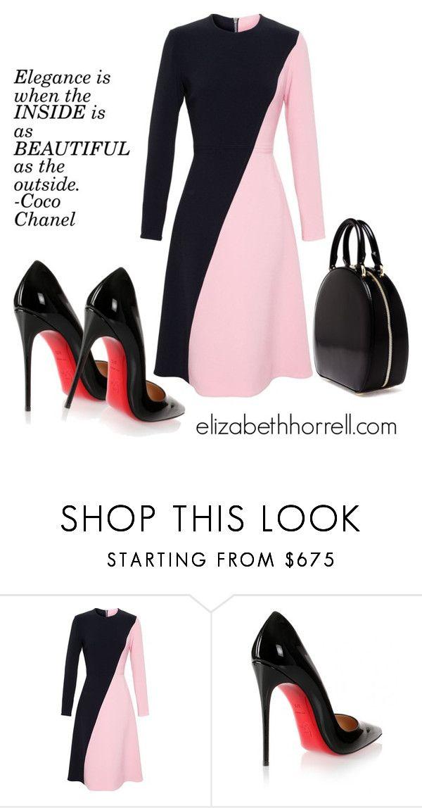 Liz By Elizabethhorrell Liked On Polyvore Featuring Roksanda Christian Louboutin And Simone Rocha Fashion Work Fashion Womens Fashion