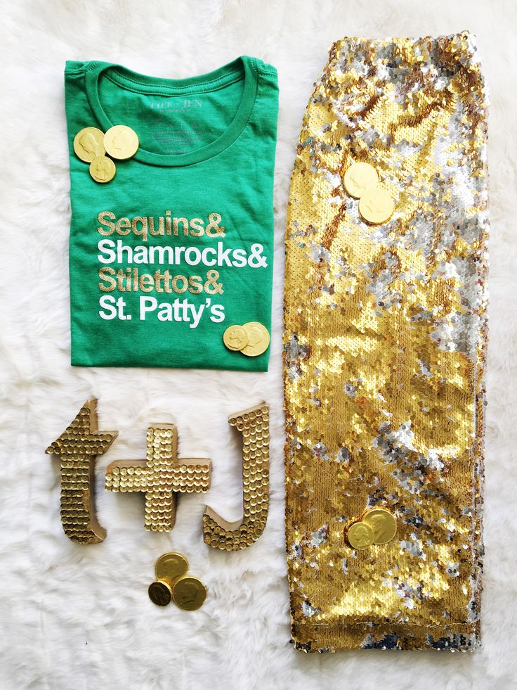graphic tees, graphic tshirts, graphic shirts, saint patricks day, st patricks day, st patricks day shirts, st pattys day shirts, what to wear to st patricks day parade, how to style your graphic tee, sequin skirt, sequin pencil skirt, how to style your sequin pencil skirt, gold sequin skirt, outfit of the day, style of the day
