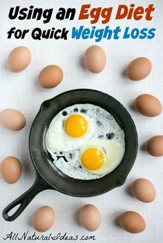 Need to lose weight fast? Many people have had quick weight loss using an egg fast diet plan. Is an egg diet healthy? Here's what you need to know.