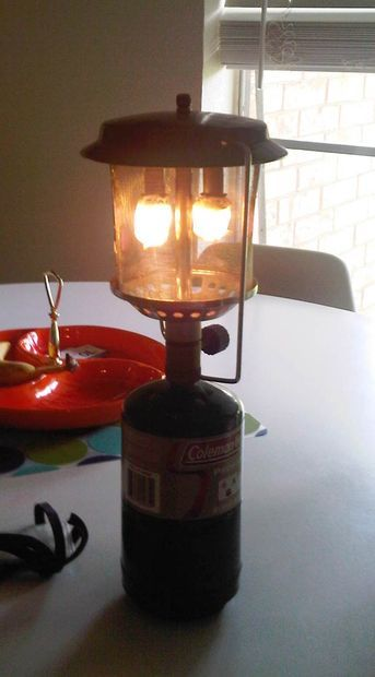 Picture of $2 Indestructible Wire Mesh Globe for Propane Lantern