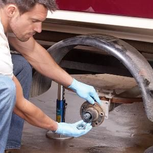Repack trailer wheel bearings to prevent the most common breakdown. It's an easy and cheap maintenance chore.