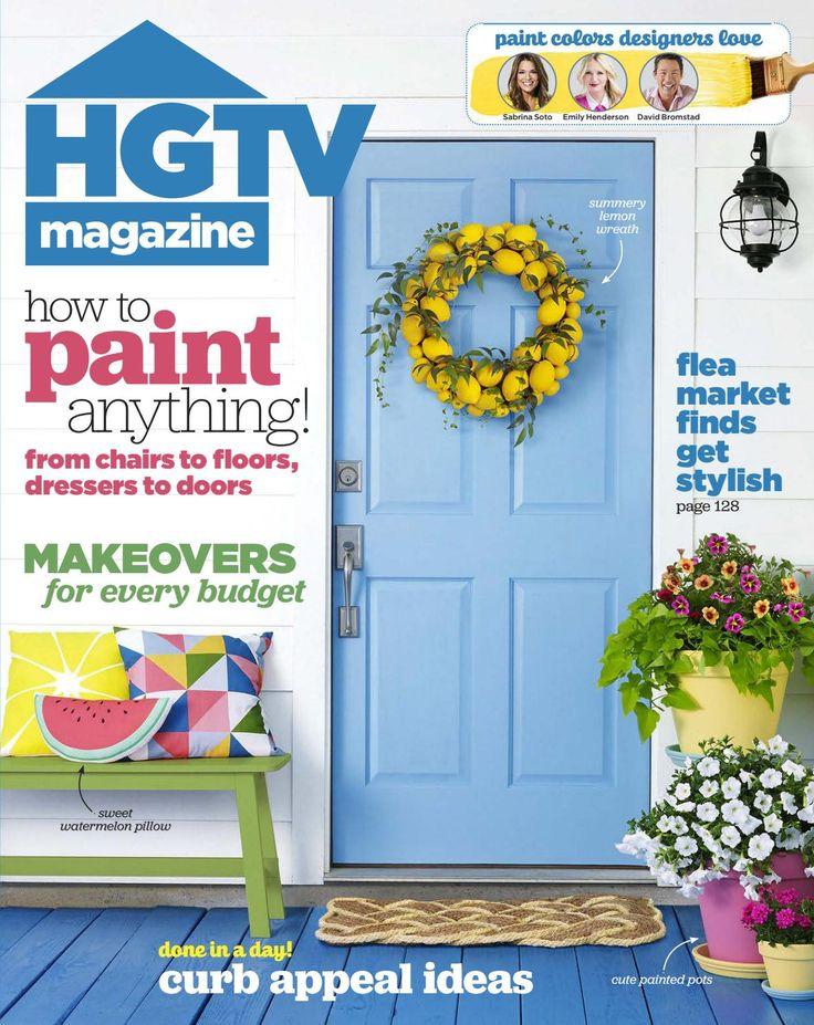 Hgtv magazine june 2016 by electrics - issuu
