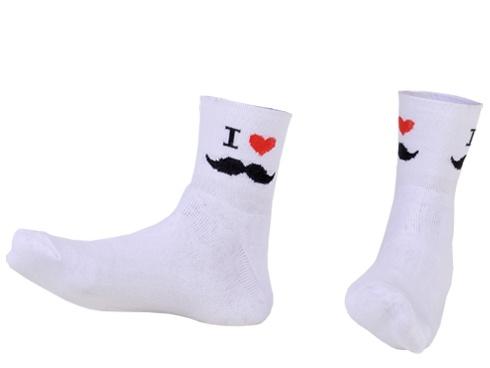 Meias I love mustache... http://bit.ly/meiasILoveMustache