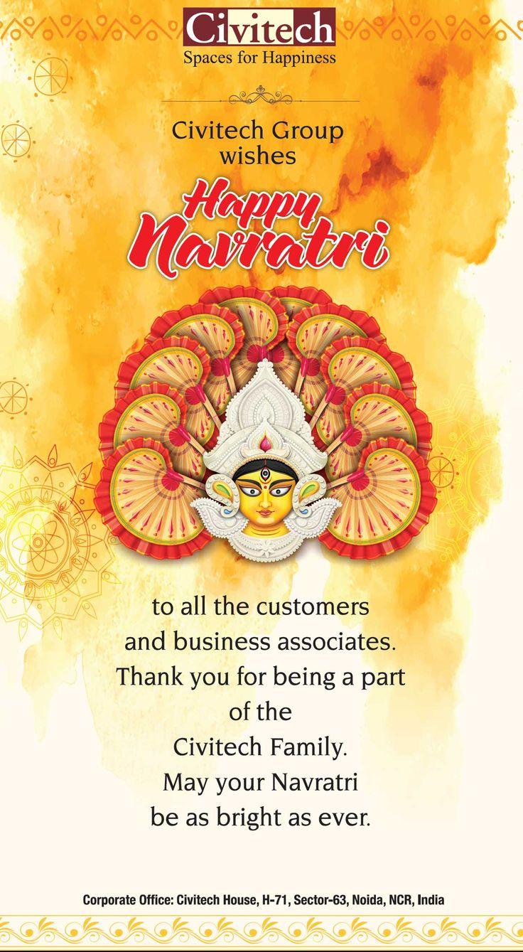 Civitech Group Wishing You All Happy Shubh Navratri! #HappyNavratri #CivitechDevelopers